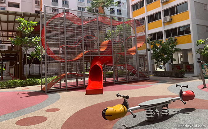 Block 832 Yishun Street 81 Wallhola Vertical Playground