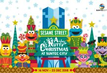 Go Nutty This Christmas With Sesame Street At Suntec City This Year-End 2018