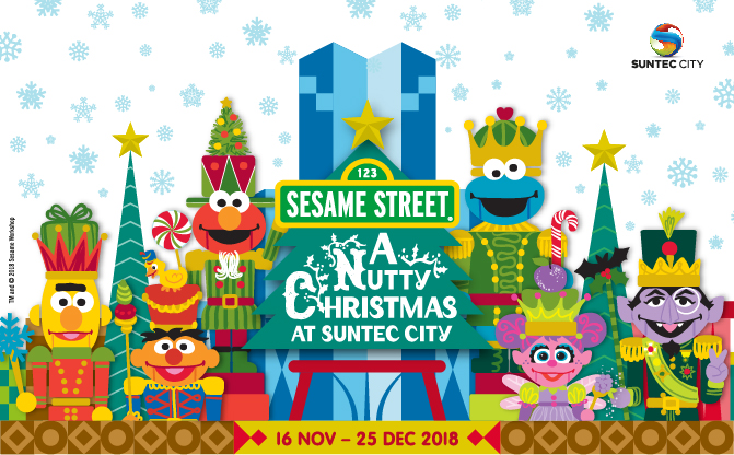 43f73a3c7fee5 Go Nutty This Christmas With Sesame Street At Suntec City This Year-End 2018
