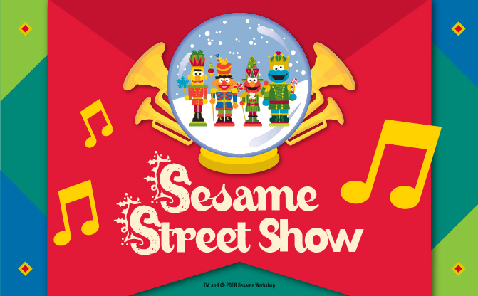 Live Shopping Centre Show - Sesame Street Show: My Favourite Part of Christmas