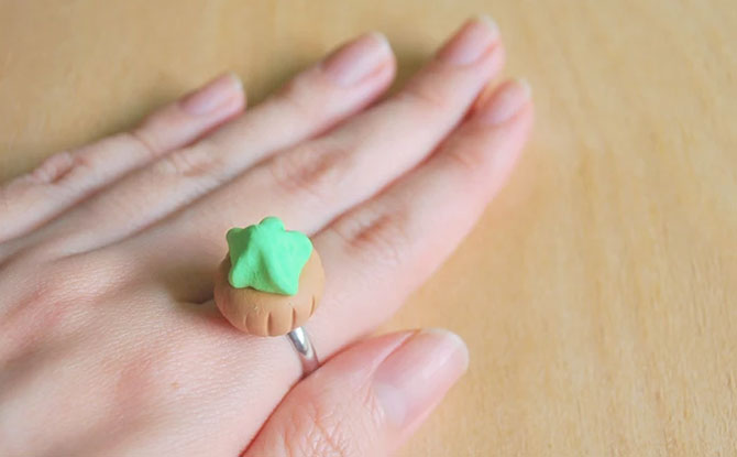 Ice gem biscuit ring from wheniwasfour.