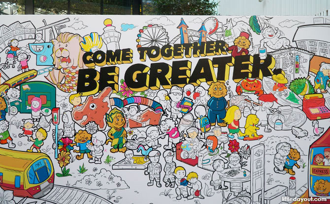 Come Together. Be Greater. wall mural
