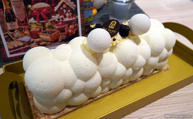 Pan Pacific Singapore Log Cake 2020