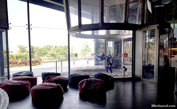 iFly Singapore Review: Wind Tunnel