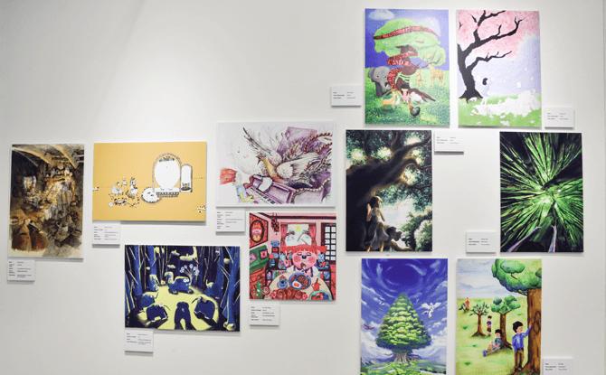 Asian Festival of Children's Content Book Illustrators Gallery