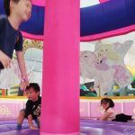 Bouncy Paradise: Massive Indoor Bouncy Castle Playground Reviewed With Eight Children Ages 2 to 8!