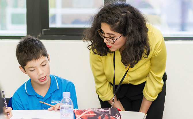 British Council's Holiday Study Camps are taught by experienced international teachers.