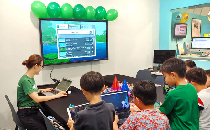 Coding Workshop with Lenovo and Empire Code, KidZania Singapore