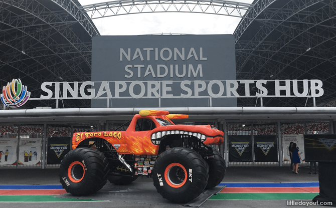 Monster Truck at National Stadium Singapore