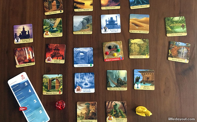 Forbidden Island tabletop game