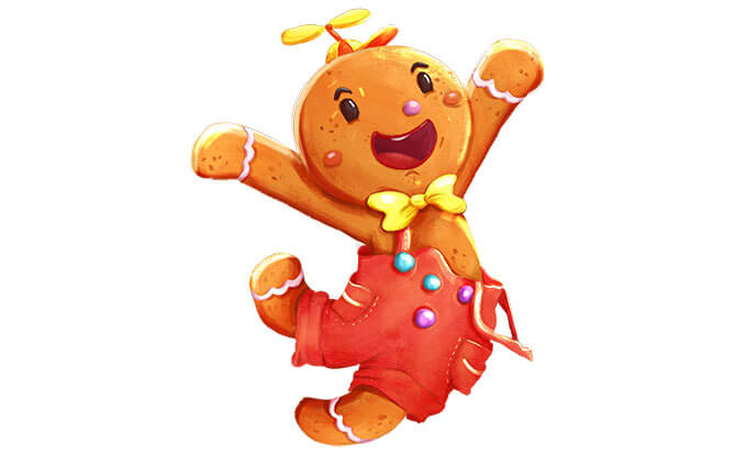 Rock Out with The Gingerbread Man!
