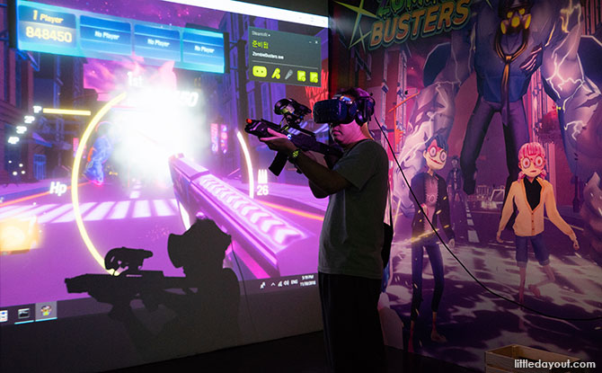 HeadRock VR, Sentosa
