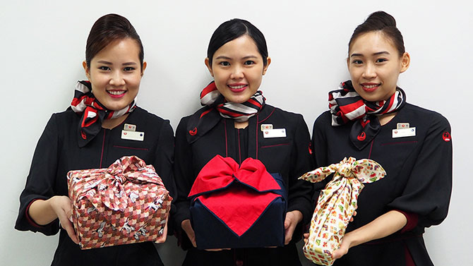 Japan Airlines' Singapore-based cabin crew