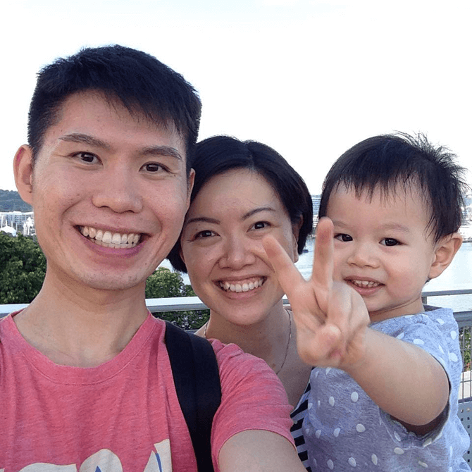 LDO Shop Author Jacqueline Zhang on a day out with her family.