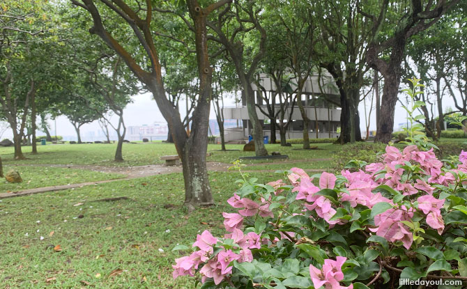 Garden of Fame at Jurong Hill Park