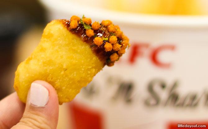 KFC Spicy BBQ Pops