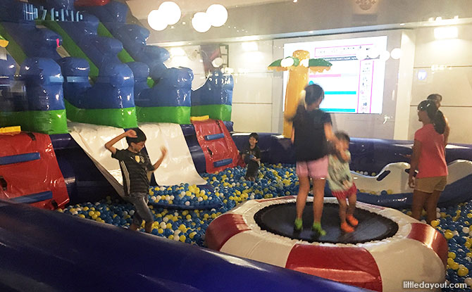 Inflatable Playground, KidZania Singapore