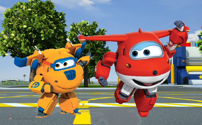 Super Wings Parade