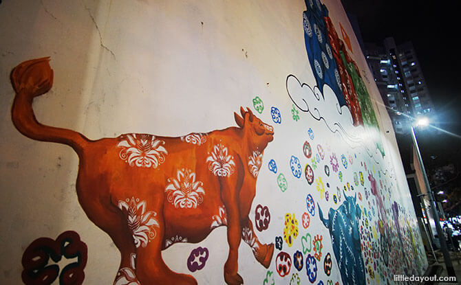 Little India Mural
