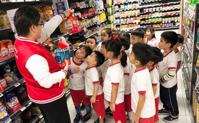 MindChamps PreSchool Outing to Grocery Store