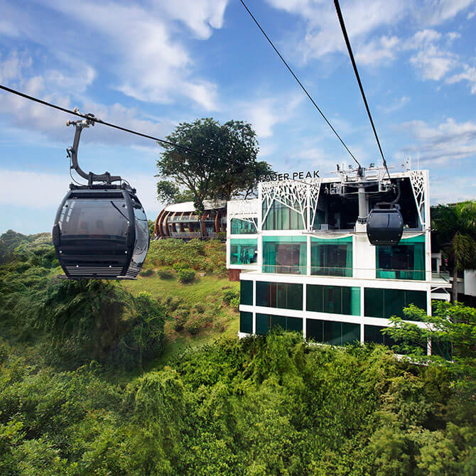 Sentosa Cable Car - Mount Faber Line