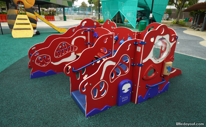 Origami Playground at Nee Soon 3G Park Toddler Play area