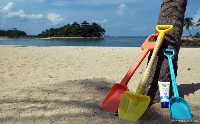 Sentosa's Beaches – Palawan & Tanjong