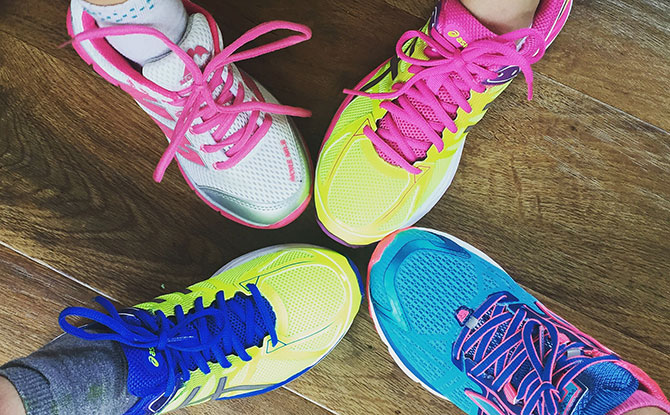 A Family Who Runs Together, Stays Together