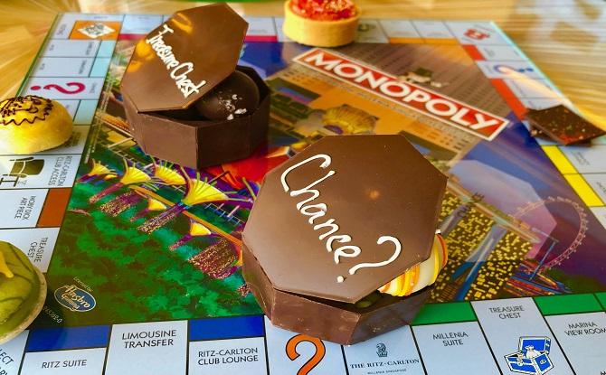A Ritz Carlton Monopoly Welcome