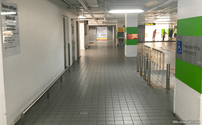 Route to Changi Airport Staff Canteen at T2