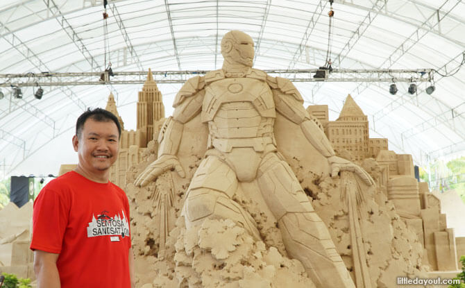 Sentosa Sandsation: MARVEL Edition