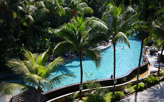 Siloso Beach Resort's Pool