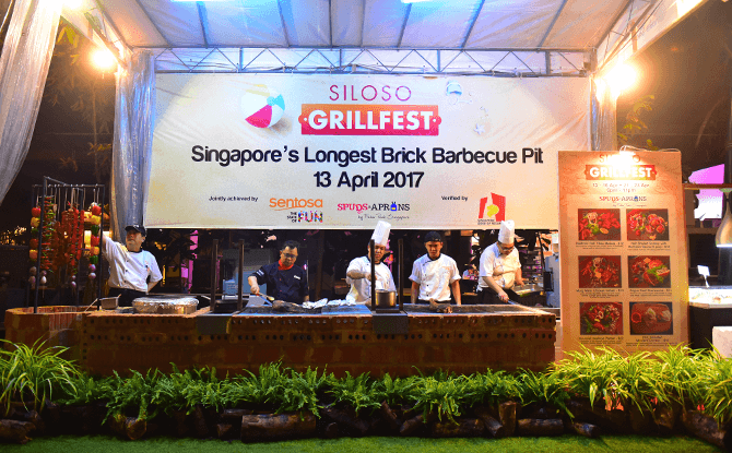 Siloso GrillFest: Singapore's Longest Brick Barbecue Pit