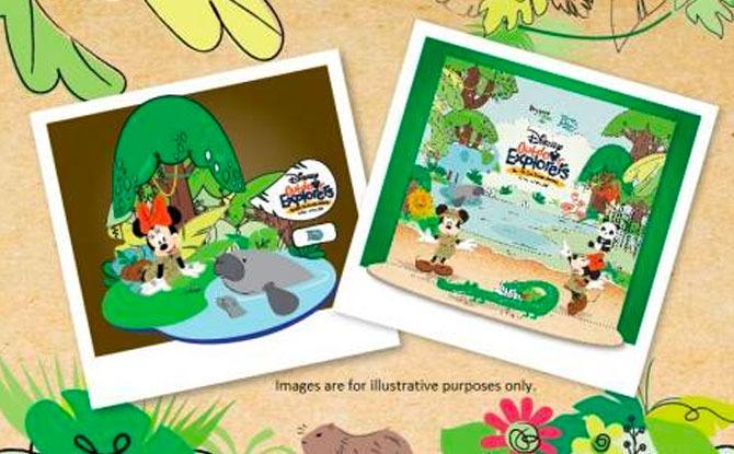Disney Outdoor Explorers - Singapore Zoo