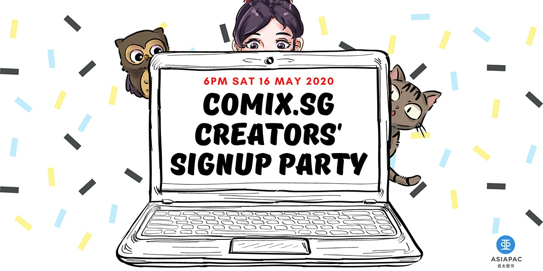 Singlit Comics Den - Comix.SG