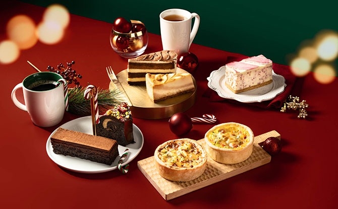 Starbucks Unveils Festive Treats Including A New Jolly Baked Apple Latte And Favourites Like Toffee Nut Crunch Latte.