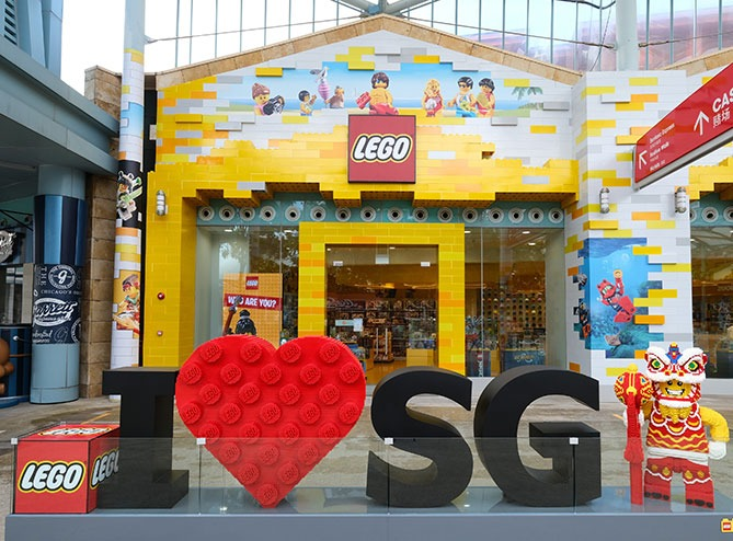 Southeast Asia and Singapore's LEGO Certified Store