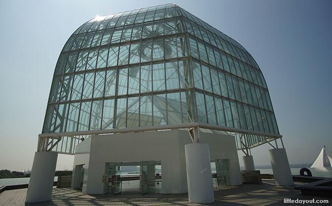 Tokyo Sea Life Park Dome Entrance