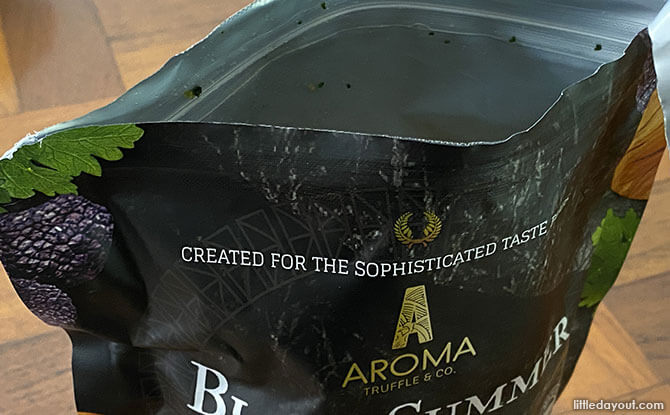 Aroma Truffle & Co.: Truffle-flavoured Potato Chips in Singapore