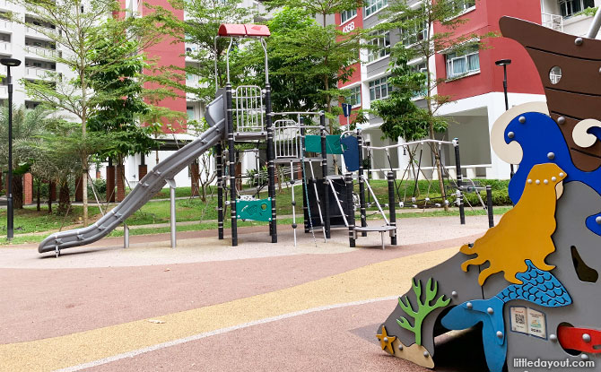 Playground in the heartlands
