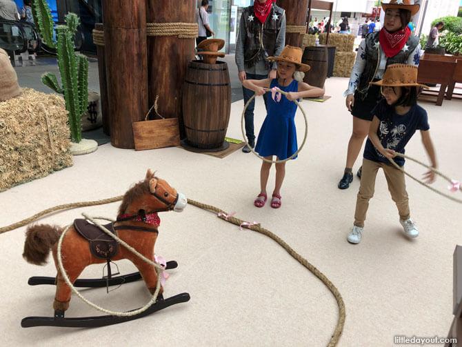 Horse Lasso - Westgate June School Holidays 2018