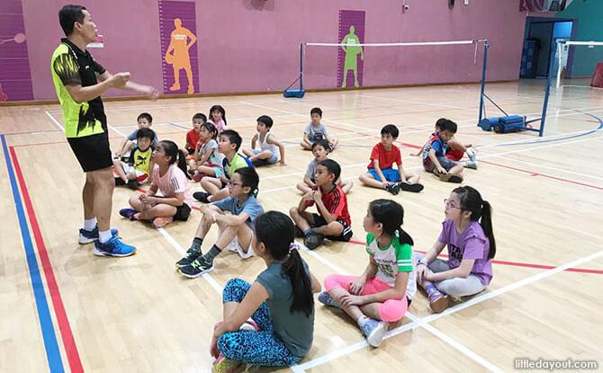 ActiveSG Badminton