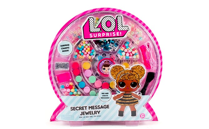 L.O.L. Surprise Secret Message Jewelry Making Kit