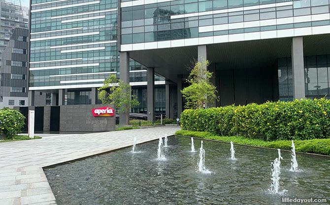 Outdoor area, Aperia Mall