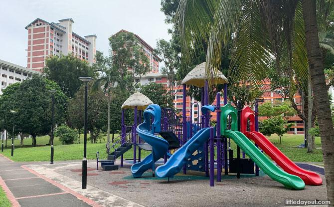 Bishan North Neighbourhood Park Playground
