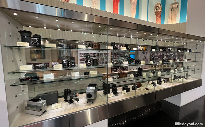 Costumes, vintage cameras, movie posters and more
