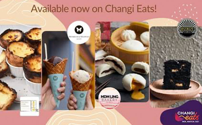 Food Available On Changi Eats