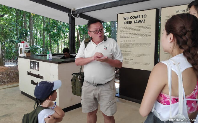 Alan Tan, NParks Manager at Pulau Ubin