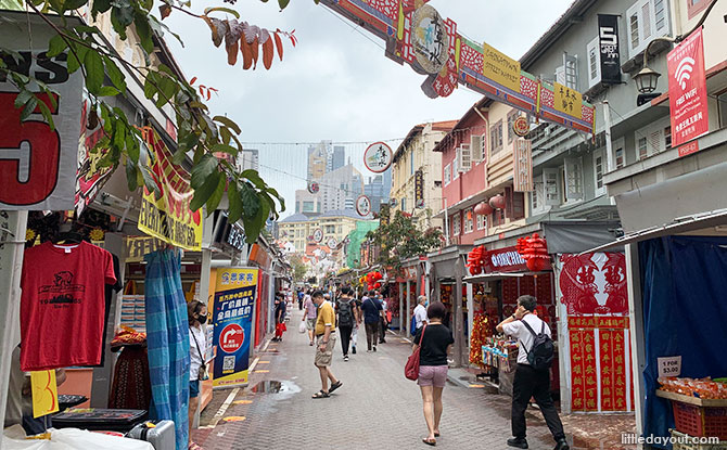 Shops in Chinatown getting ready for Chinese New Year 2021