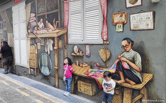 Murals in Chinatown